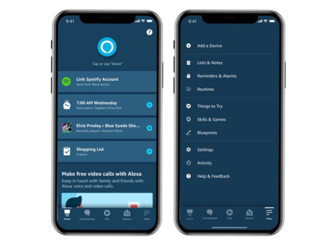 亚马逊重新设计的Alexa应用程序将您最常用的功能放在首位