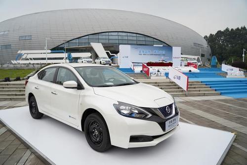 您的电动汽车的电可以用来支付日产新展览的停车费用