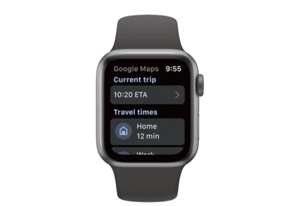 Google Maps终于重新回到Apple Watch