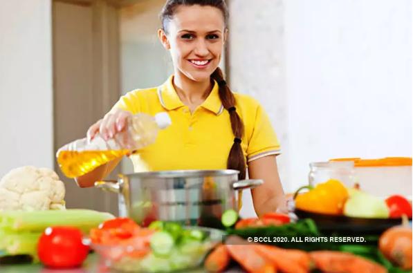 厨房中需要的5种健康油