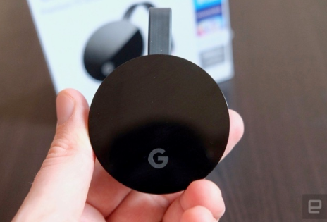 Chromecast让Google Meet进入电视