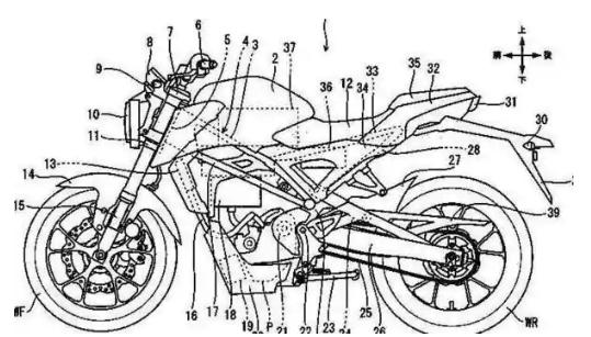 基于本田CB125R的电动自行车正在开发中