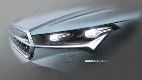 斯柯达恩雅克电动SUV再次被嘲笑,这次是采用矩阵LED大灯