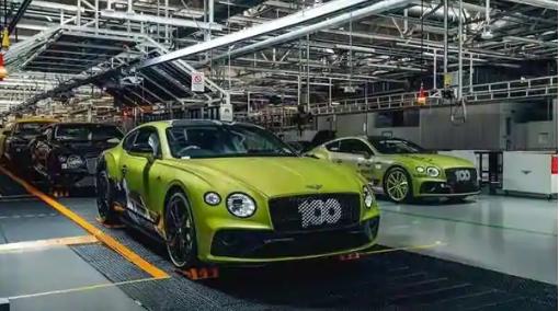 宾利开始生产超级独家派克峰大陆GT