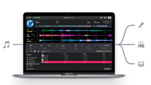 Algoriddim将其AI音频工具剥离到独立的Neural Mix Pro应用程序中