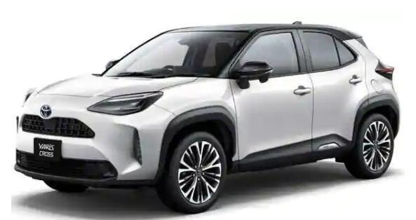 丰田推出带有混合动力选件的新型Yaris Cross紧凑型SUV