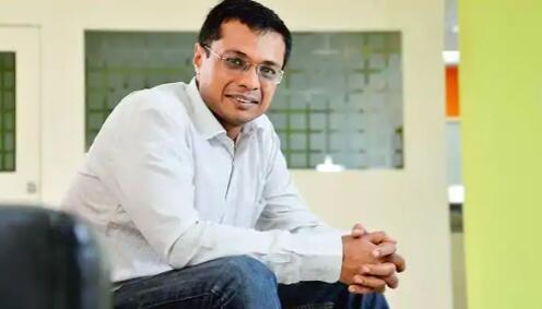 Sachin Bansal眼睛Biyani保险合资企业