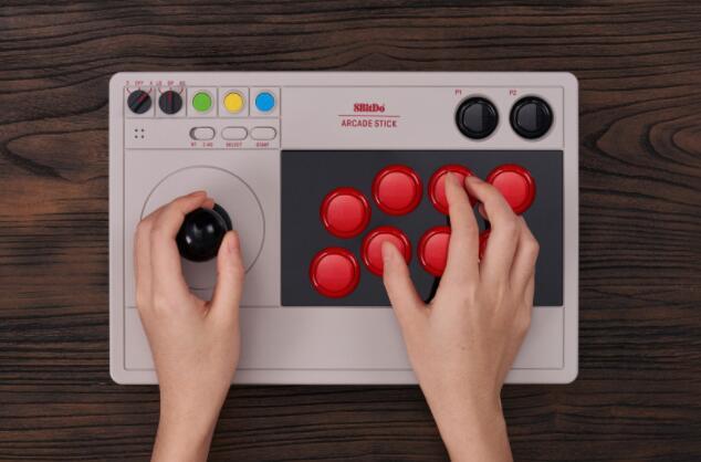 8BitDo正在为Switch和PC播放器制作可定制的街机游戏杆