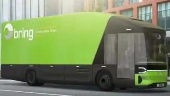 瑞典初创公司推出巴黎伦敦电动卡车设计