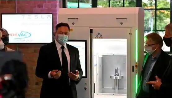 马斯克与德国政客讨论疫苗项目 特斯拉汽车厂