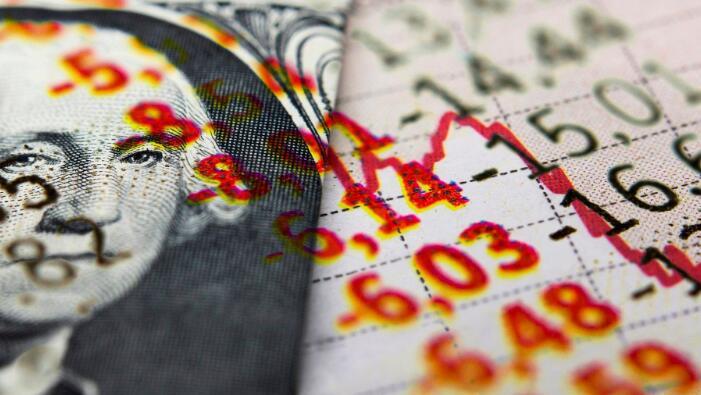 标普500抛售加深 科技和能源股陷入崩溃
