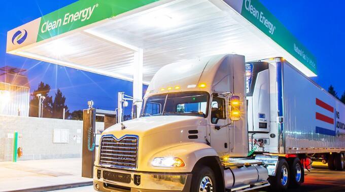 8月份清洁能源燃料的股价上涨了10.9%
