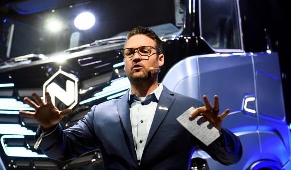 电动卡车制造商尼古拉股价下跌
