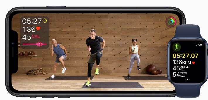 苹果通过推出健身订阅服务来挑战Peloton