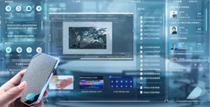 阿里巴巴推出云计算机 交付机器人