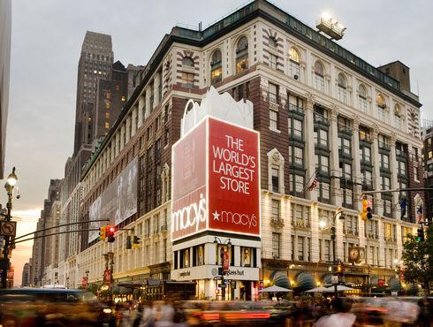 梅西百货首席执行官认为其商店在假日购物季提供了优势