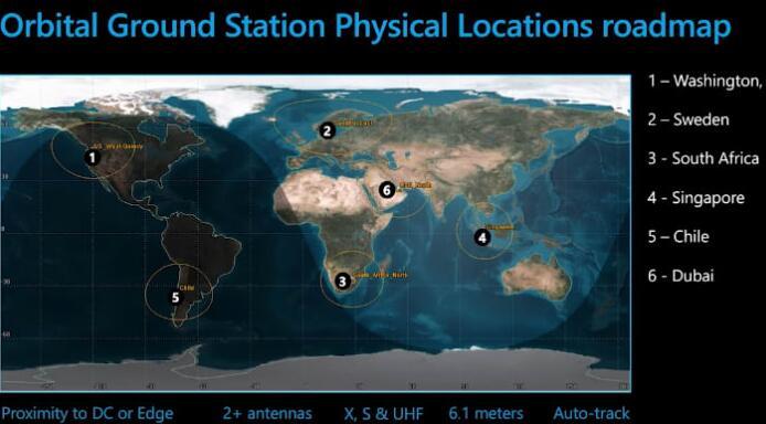 微软推出Azure Orbital 与亚马逊竞争将卫星连接到云