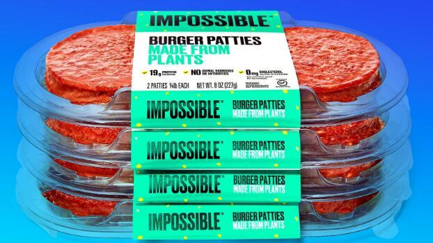 超越肉类竞争者不可能的食物大力推动加拿大餐馆