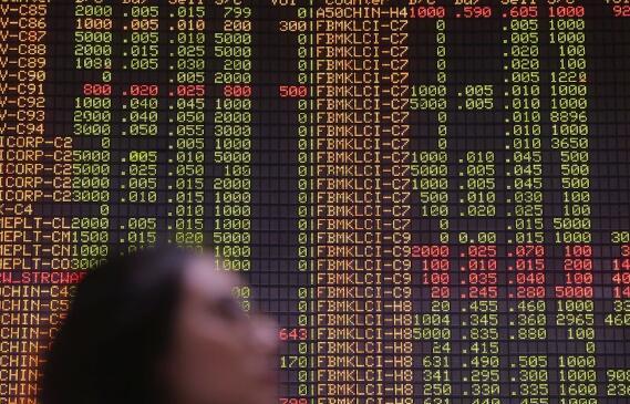 区域股市低迷 吉隆坡股市涨跌不一