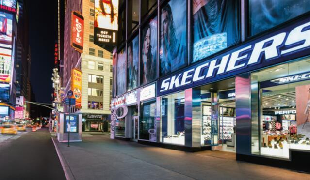 该鞋类公司的收入从第二季度开始反弹其中电子商务的实力明显