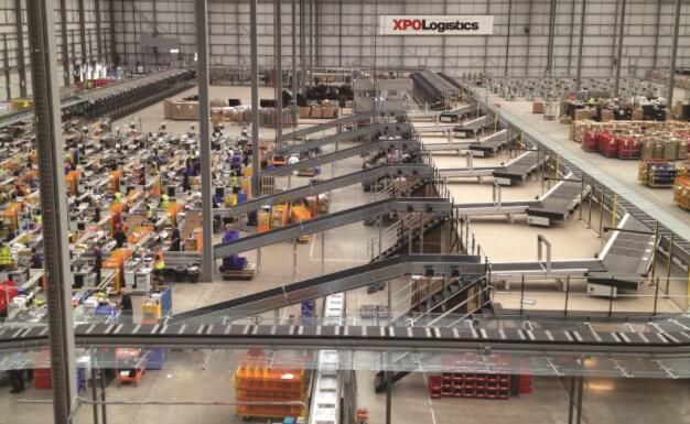 今天XPO Logistics的份额更高