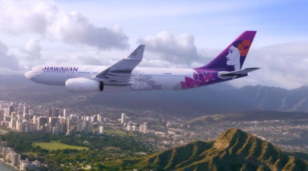 今天美国航空与精神航空和夏威夷航空的股票下跌