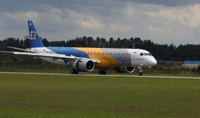 巴西航空工业公司的股票今天飞涨