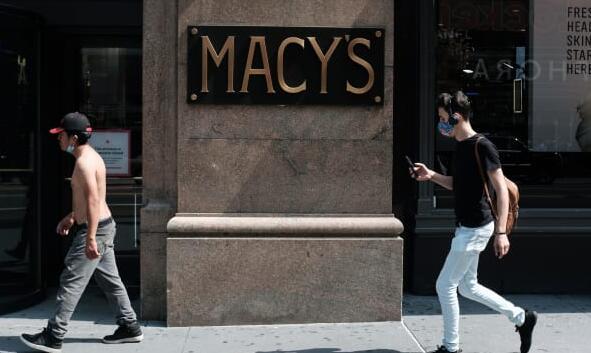 由于当前局势威胁假期 梅西百货的同店销售额下降了20%以上