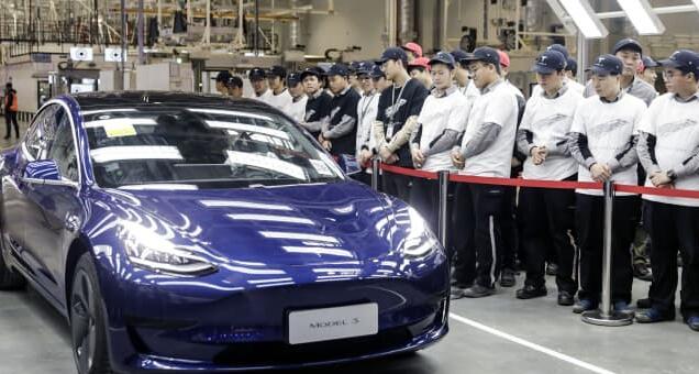 中国电动汽车的竞争对手排队挑战特斯拉在自己的地盘上