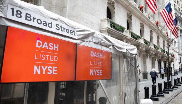 由于投资者押注食品以外的增长 DoorDash的交易价格远高于Uber和GrubHub