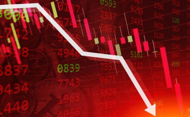 周一交易台的股票急剧下跌