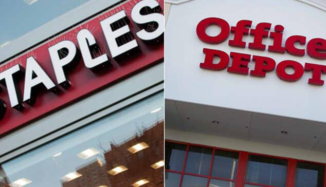 斯台普斯提出21亿美元现金收购Office Depot母公司