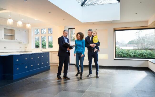 房屋建筑商正掀起一波住宅需求热潮