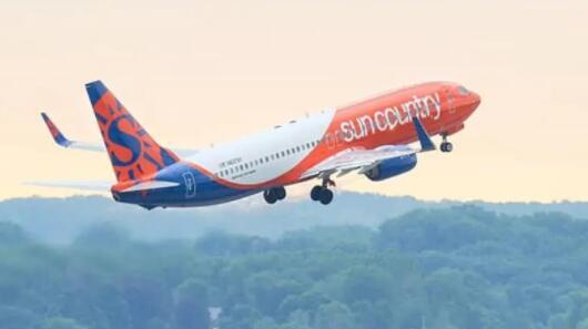 位于明尼苏达州的Sun Country Airlines已申请公开上市