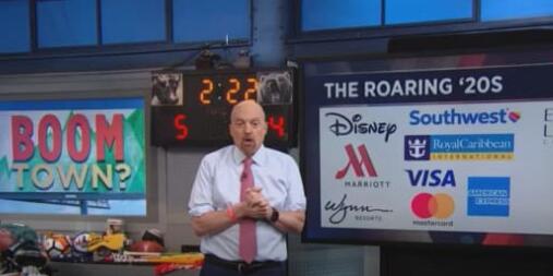 吉姆·克莱默透露重新开放的股票 投资者可以在轮换中发挥作用