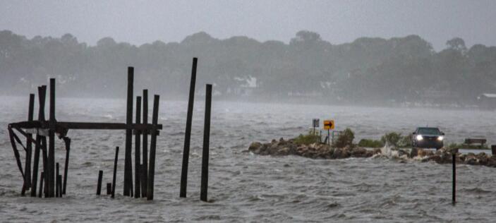 在飓风季节飙升的股票