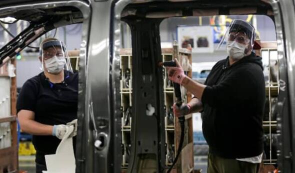 福特恢复密苏里州和佛罗里达州工厂的口罩规定