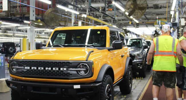 生产障碍导致福特推迟Bronco SUV和Mustang Mach-E的交付