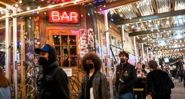 餐厅起诉纽约市德布拉西奥要求室内用餐接种疫苗
