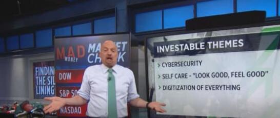 吉姆克莱默说按照这四个投资主题购买股票以应对低迷的市场