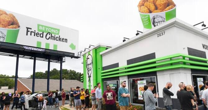 下一场快餐鸡肉三明治战争可能是素食战争