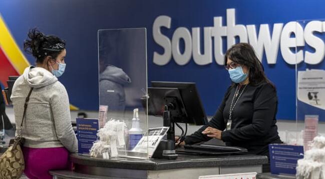 西南航空公司为员工推出新的疫苗激励措施
