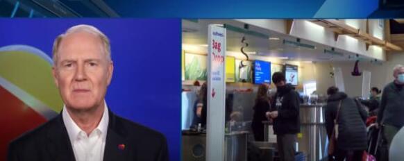 西南航空公司首席执行官表示他从不想要疫苗授权但拜登强行施压