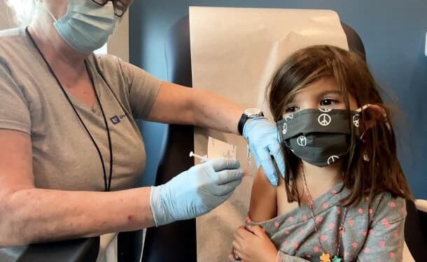 白宫呼吁儿科医生最早从下个月开始帮助推出儿童新冠疫苗