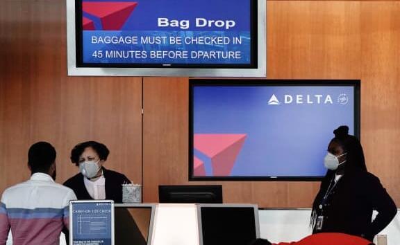 达美航空公司首席执行官表示90%的员工在未经公司授权的情况下接种了疫苗